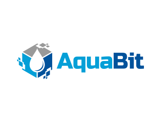 AquaBit logo design