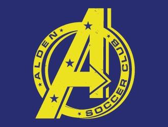 Alden soccer club  logo design