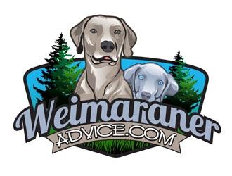 WeimaranerAdvice.com logo design