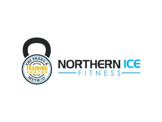 Northern ICE Fitness logo design