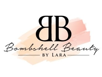 Bombshell Beauty by Lara logo design