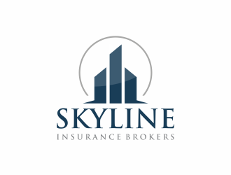 Skyline Insurance Brokers logo design