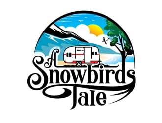 A Snowbirds Tale logo design