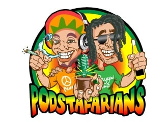 Podstafarians logo design