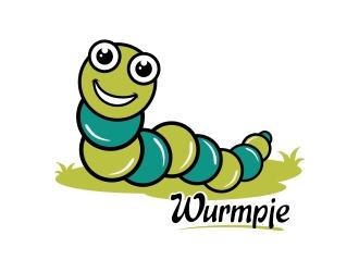 Wurmpje logo design