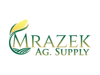 Mrazek Ag. Supply logo design
