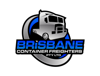 Brisbane Container Freighters Pty Ltd logo design