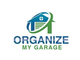 Organize My Garage logo design