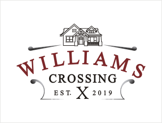 Williams Crossing  logo design