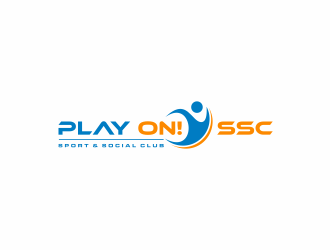 Play ON! SSC (Sport & Social Club) logo design