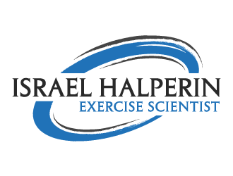 Israel Halperin Exercise Scientist logo design