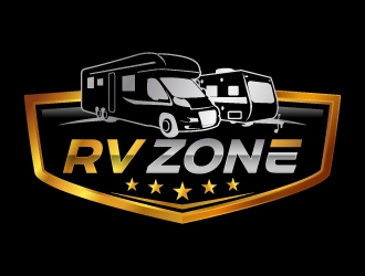 RV ZONE logo design