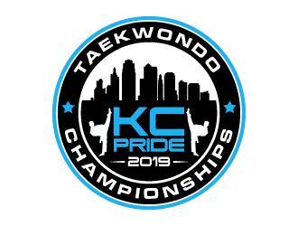 KC PRIDE Taekwondo Championships logo design