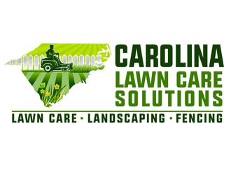 Carolina Lawn Care Solutions logo design