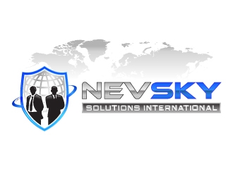 NevSky International Solutions  logo design