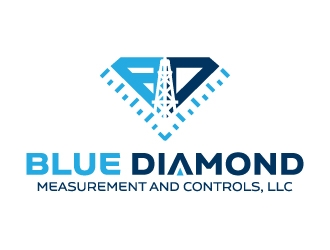Blue Diamond Measurement and Controls, LLC logo design