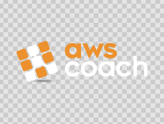 AWS Coach logo design