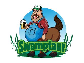 Swamptaur logo design by ARALE