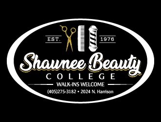 Shawnee Beauty College logo design