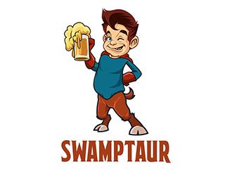 Swamptaur logo design by Optimus