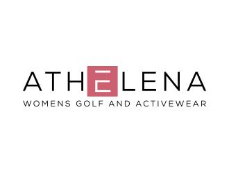 Athelena logo design