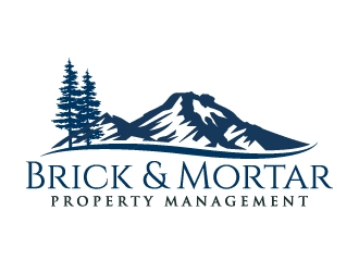 Brick & Mortar Property Management logo design