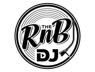 The RnB DJ logo design