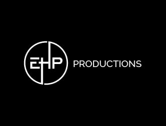 EHP Productions logo design