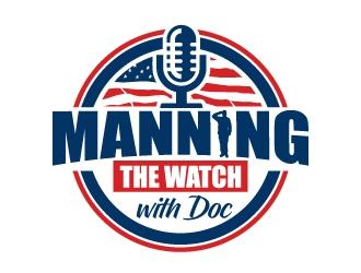 Manning the Watch logo design winner