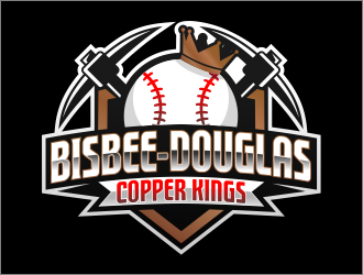Bisbee-Douglas Copper Kings logo design