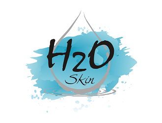 H2O Skin logo design