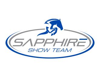 Sapphire Show Team logo design