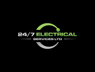 24/7 Electrical Services LTD logo design