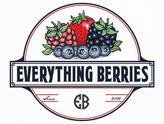 Everything Berries logo design