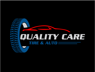 Quality Care Tire & Auto logo design