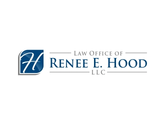 Law Office of Renee E. Hood, LLC logo design