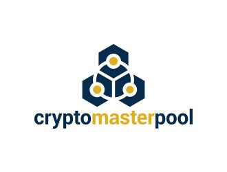 cryptomasterpool logo design