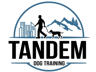 Tandem Dog Training  logo design