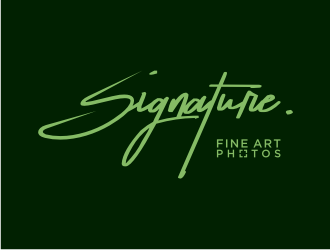 Signature.Photos logo design