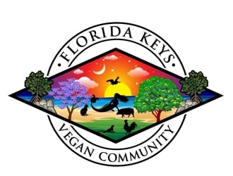 Florida Keys vegan community  logo design
