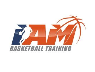 I AM Basketball Training  logo design