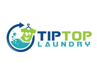 tip top laundry logo design 48hourslogo com tip top laundry logo design