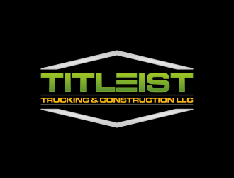 Titleist Trucking & Construction LLC logo design