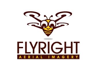 FlyRight logo design
