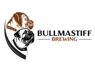 Mastiff Head Brewing logo design