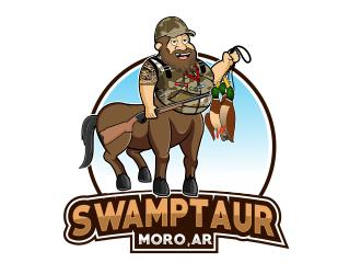 Swamptaur logo design