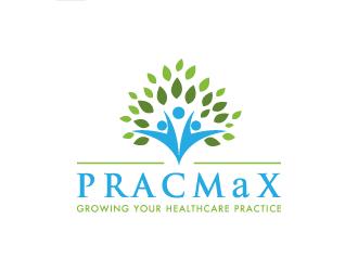 PRACMaX logo design