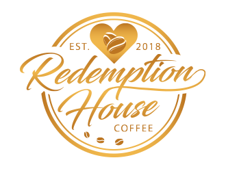Redemption House Coffee logo design