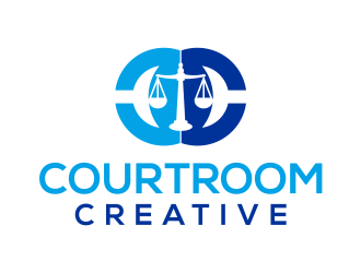 Courtroom Creative logo design