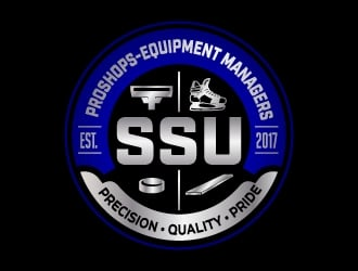 SSU PROSHOPS-EQUIPMENT MANAGERS logo design